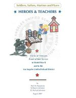 Heroes & Teachers : Includes Full-Size Patterns - Paul M. Possemato