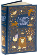 Aesop's Illustrated Fables : Barnes & Noble Leatherbound Classic Collection - Aesop