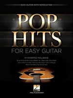 Pop Hits for Easy Guitar