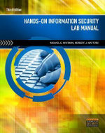 Hands-on Information Security Lab Manual : For IT and Infosec Managers - Michael Whitman