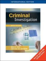 Criminal Investigation - Karen M. Hess