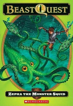 Zepha the Monster Squid : Beast Quest: The Dark Realm (Pb) - Adam Blade