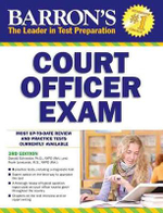 Barron's Court Officer Exam, 3rd Edition - Donald J Schroeder Ph D