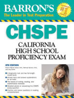 Barron's CHSPE : California High School Proficiency Exam - Sharon Weiner Green