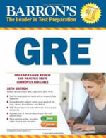 Barron's GRE, 20th Edition - Sharon Weiner Green