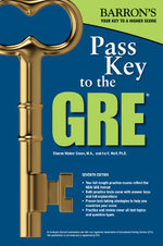 Pass Key to the GRE, 7th Edition - Sharon Weiner Green