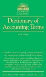 Dictionary of Accounting Terms - Dr. Jae K. Shim