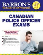 Barron's Canadian Police Officer Exams - Earl Andersen