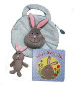 My Little Bunny Tote Bag : Tote Bag - Christine Lyn Jones