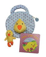My Little Chick Tote Bag : Hello Little Chick - Christine Lyn Jones