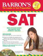 SAT : Barron's SAT (W/CD) - Ira K. Wolf