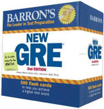 GRE Flash Cards - Sharon Weiner Green