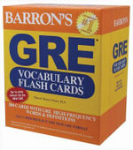 GRE Vocabulary Flash Cards - Sharon Green