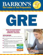Barron's GRE , 20th Edition - Sharon Weiner Green