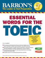 Essential Words for the Toeic with MP3 CD : Toeic - Lin Lougheed
