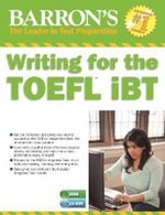Writing for the TOEFL Ibt with MP3 CD - Lin Lougheed