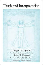 Truth and Interpretation - Luigi Pareyson