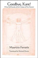 Goodbye, Kant! : What Still Stands of the Critique of Pure Reason - Maurizio Ferraris