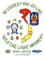 In Country and On Line with the Light Infantry 1966-1970 - Larry McDougal