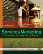 Services Marketing : Concepts, Strategies, & Cases - K Douglas Hoffman