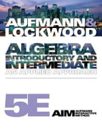 Algebra : Introductory and Intermediate: An Applied Approach - Joanne S. Lockwood