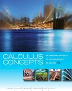 Calculus Concepts : An Informal Approach to the Mathematics of Change - Donald R LaTorre