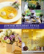 Jewish Holiday Style - Rita Milos Brownstein