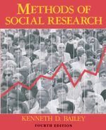 Methods of Social Research, 4th Edition - Kenneth Bailey