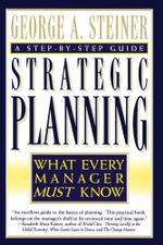 Strategic Planning - George A. Steiner