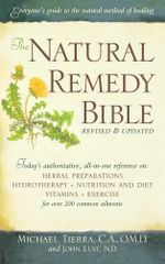 The Natural Remedy Bible - John Lust