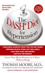 The DASH Diet for Hypertension - Mark Jenkins