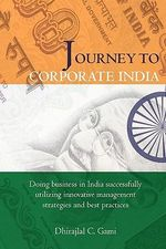 Journey to Corporate India - Dhirajlal Gami