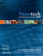 Nanotechnology 2009: Volume 2 : Life Sciences, Medicine, Diagnostics, Bio Materials and Composites Technical Proceedings of the 2009 NSTI Nanotechnology Conference and Expo - NSTI