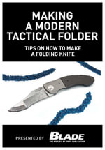 Making a Modern Tactical Folder : Tips on How to Make a Folding Knife: Learn How to Make a Folding Knife with Allen Elishewitz. Knife Making Tips, Supp - Joe Kertzman