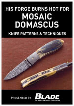 His Forge Burns Hot for Mosaic Damascus : Knife Patterns & Techniques: Damascus Pattern Making & Techniques. Learn How to Make Mosaic Damascus Patterns - Joe Kertzman