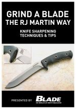 Grind a Blade the R.J. Martin Way : Knife Sharpening Techniques & Tips - Joe Kertzman