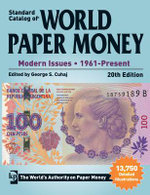 Standard Catalog of World Paper Money : Modern Issues  - 1961-Present : 20th Edition