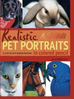 Realistic Pet Portraits in Colored - Anne Flood