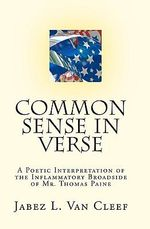 Common Sense in Verse - Jabez L Van Cleef