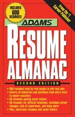 Adams Resume Almanac - Richard Wallace