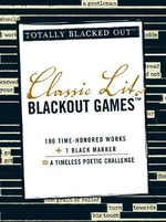 Classic Lit Black Out Games : Totally Blacked Out - Adams Media