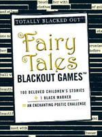 Fairy Tales Black Out Games : Totally Blacked Out - Adams Media