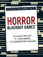 Horror Blackout Games : Totally Blacked Out - Adams Media