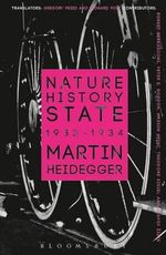 Nature, History, State : 1933-1934