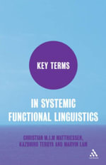 Key Terms in Systemic Functional Linguistics - Christian Matthiessen