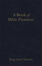 KJV Book of Bible Promises Midnight Blue
