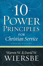 10 Power Principles for Christian Service - David W. Wiersbe