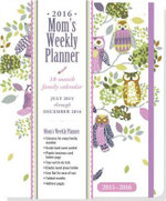 2016 Owl Forest Mom's Weekly Planner (18-Month Calendar, Family Calendar, Diary) - Peter Pauper Press Inc