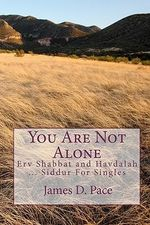 You Are Not Alone : Erv Shabbat to Havdalah ... Siddur for Singles - James D Pace