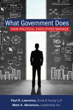 What Government Does : How Political Executives Manage - Mark A. Abramson